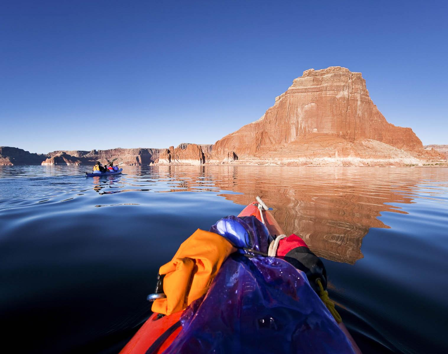 États-Unis  Lake Powell    Kayak & canot