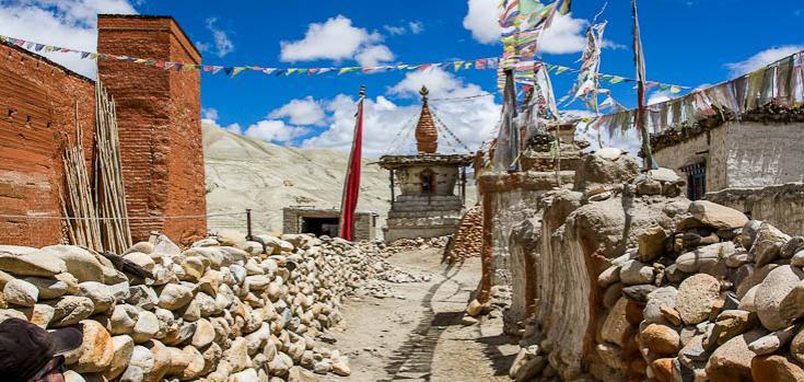 © Randoonée au coeur du Mustang Népal