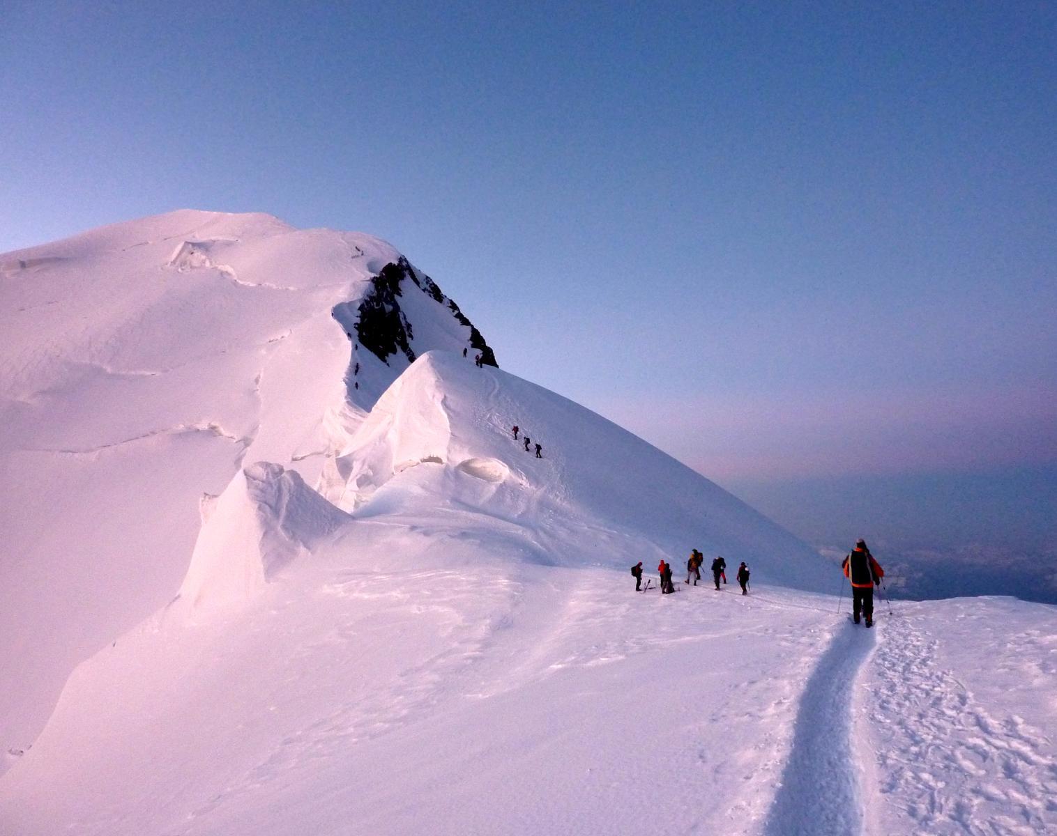 France  OBJECTIF MONT-BLANC 4810M   Alpinisme