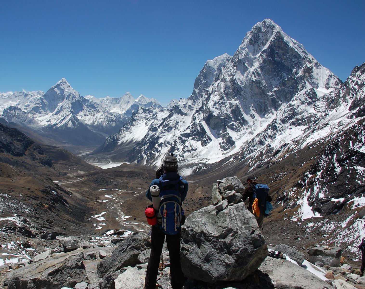 Népal  Camp de base de l'Everest, par deux cols et trois vallées   Trek & Randonnée