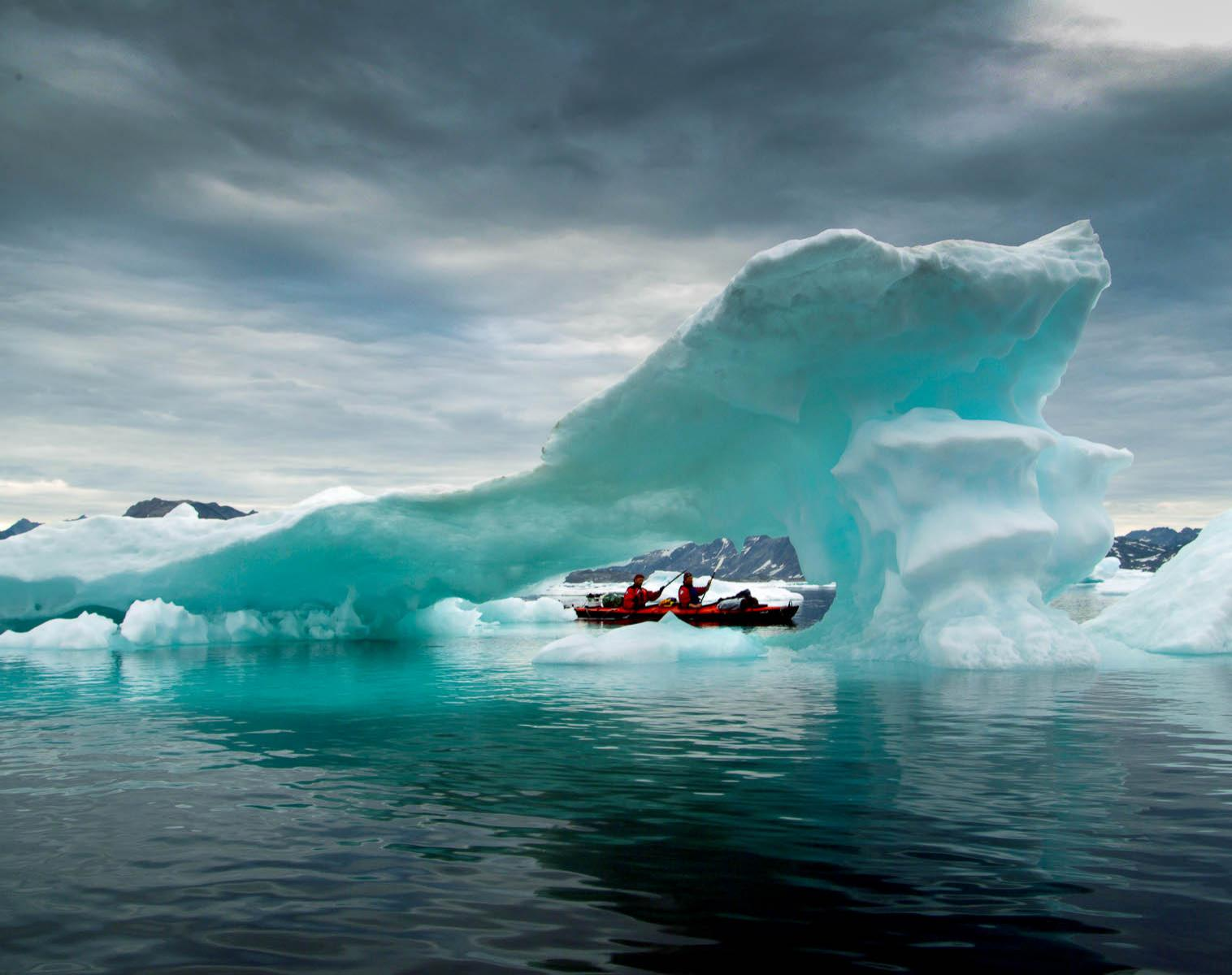 Groenland  Solitudes glacées    Trek & Randonnée Kayak & canot