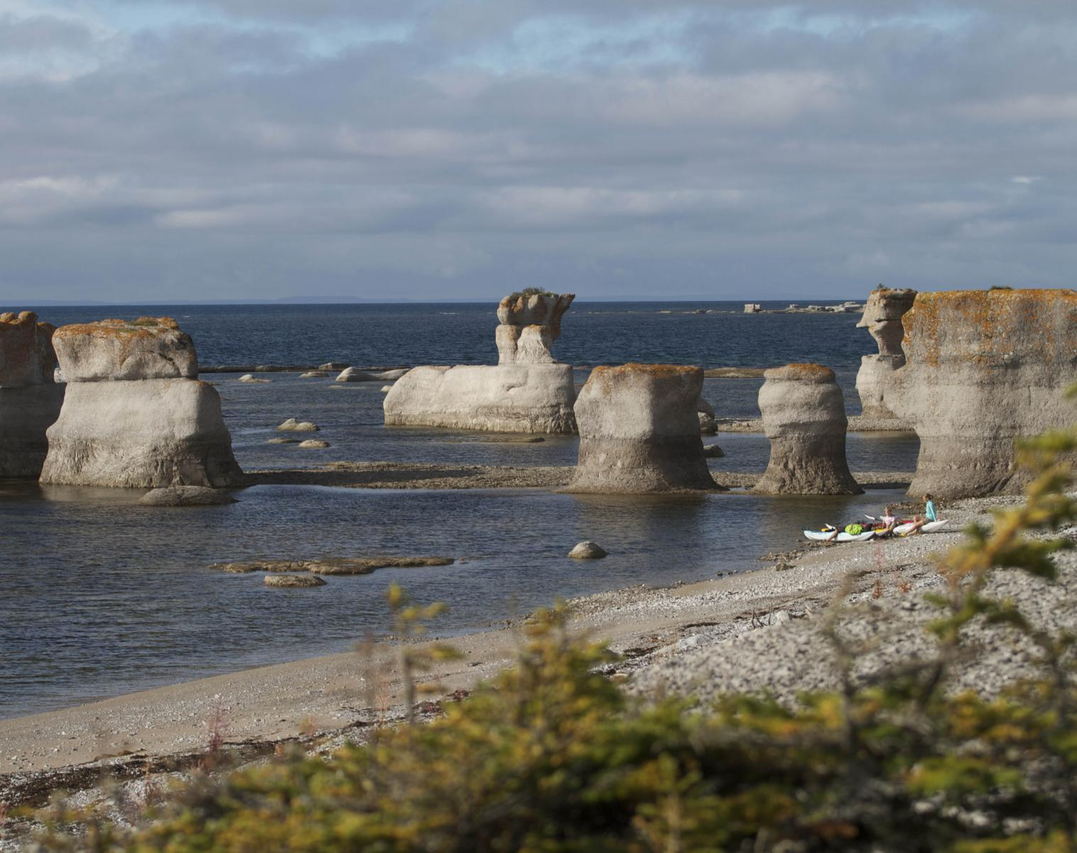 Canada  Archipel de Mingan   Kayak & canot Observation nature