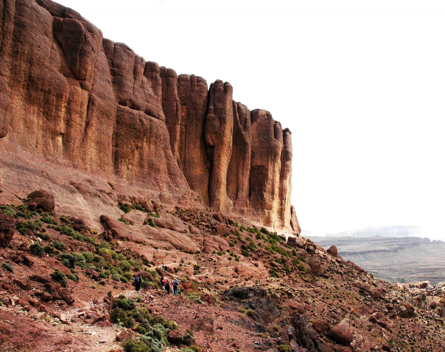 Maroc  Saghro, montagnes du désert   Trek & Randonnée