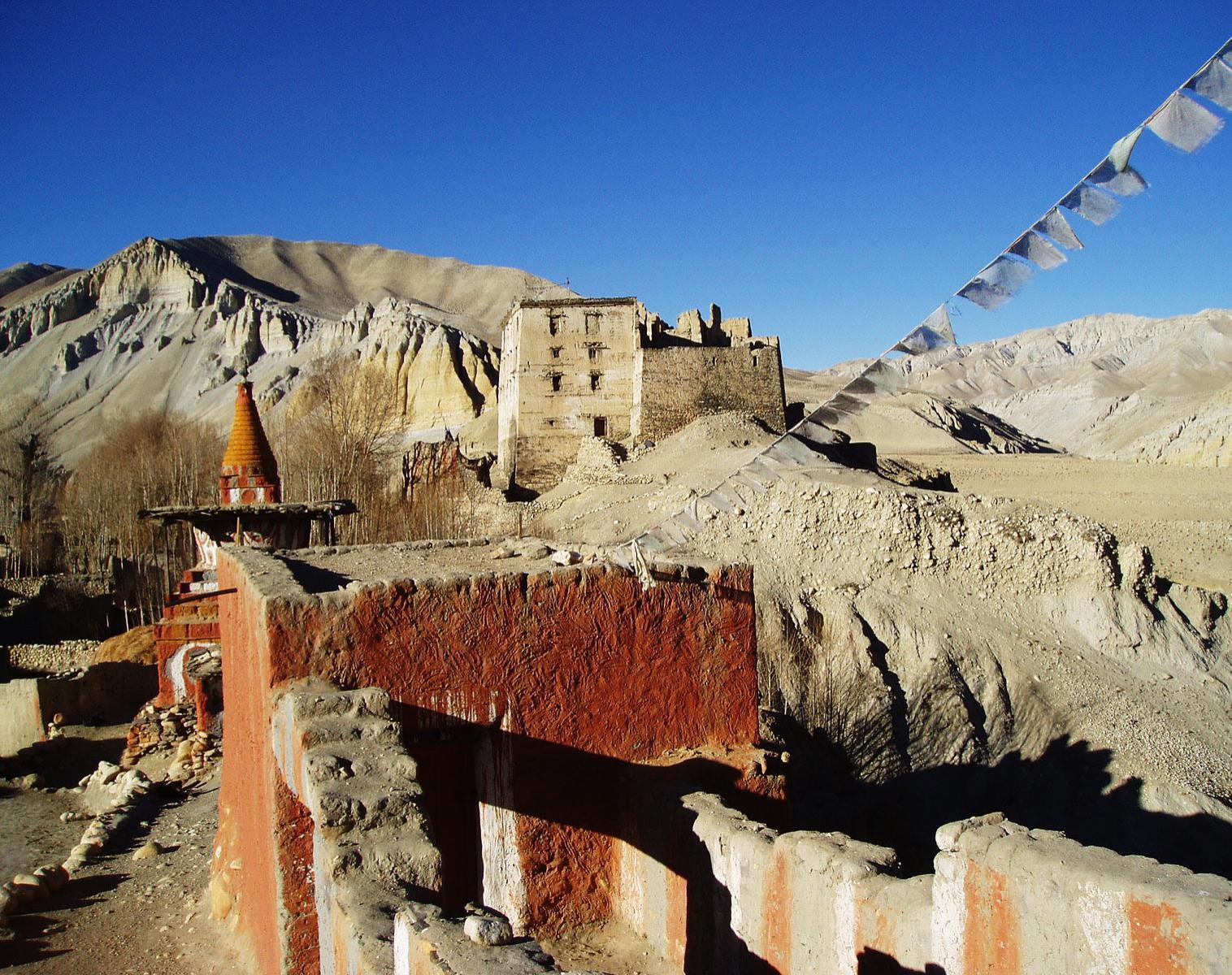 Népal  Mustang, au delà de Lo Mantang   Trek & Randonnée