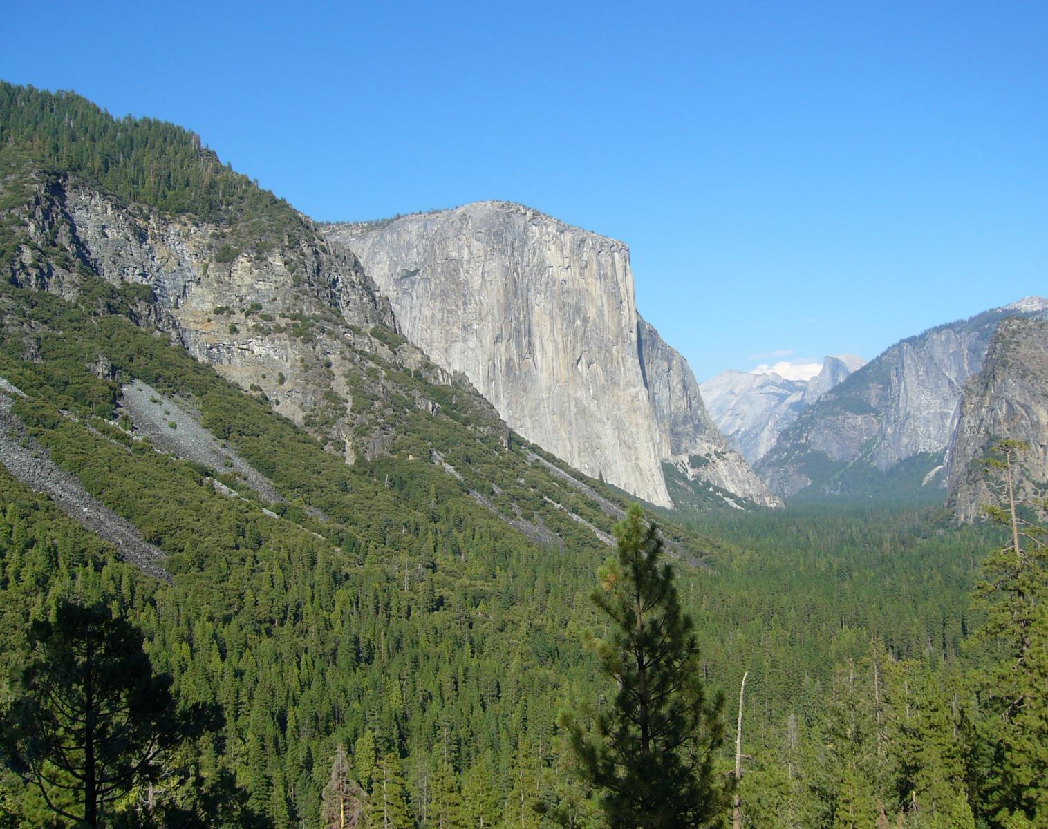 États-Unis  Yosemite National Park   Trek & Randonnée