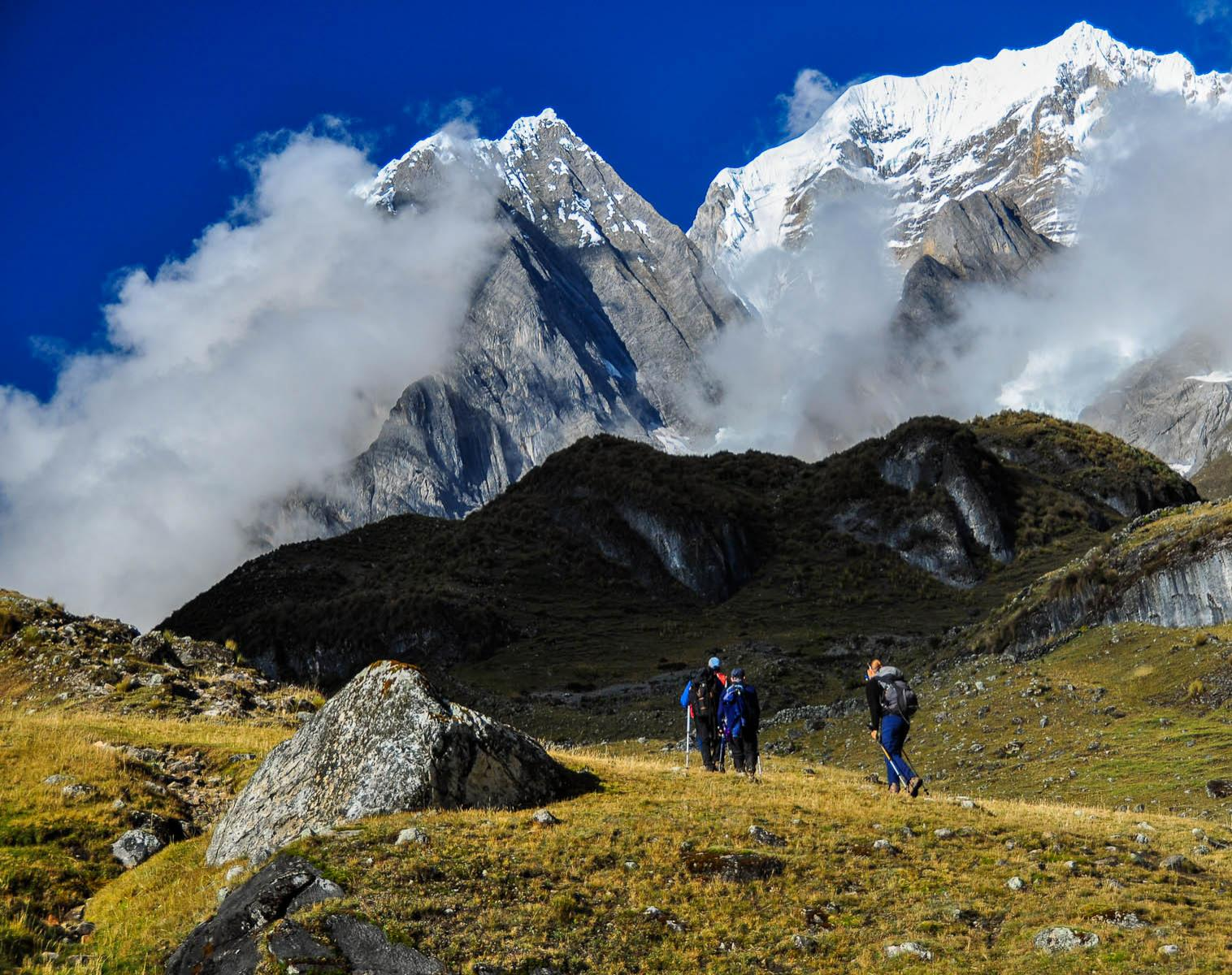 Pérou  Huayhuash et Urubamba   Trek & Randonnée