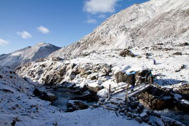 Trek Népal Pays Sherpa