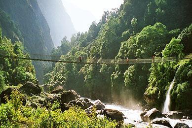 Randonnée Nepal